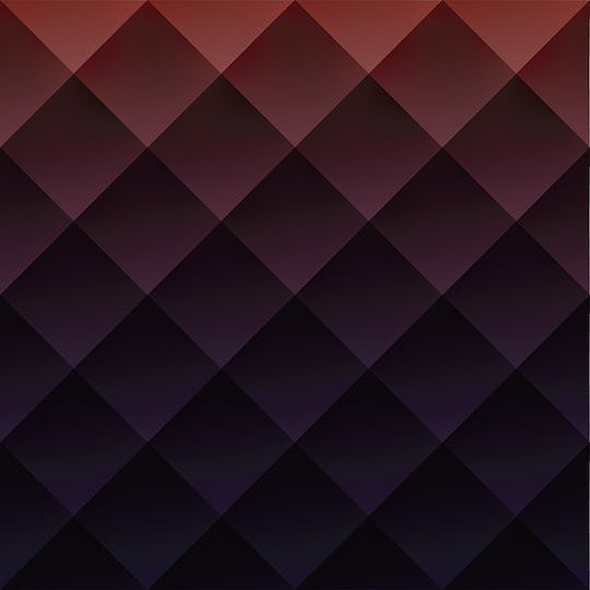 Red geometry textured illustration background