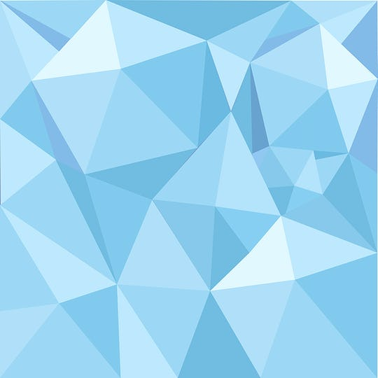 Blue geometry textured illustration background