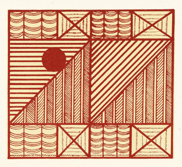 Antique illustration of the grammar of ornament by Owen Jones